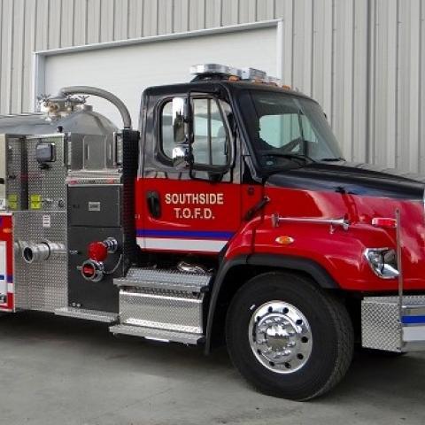 Mechanical Engineering Technology Alumnus Designs Firetrucks