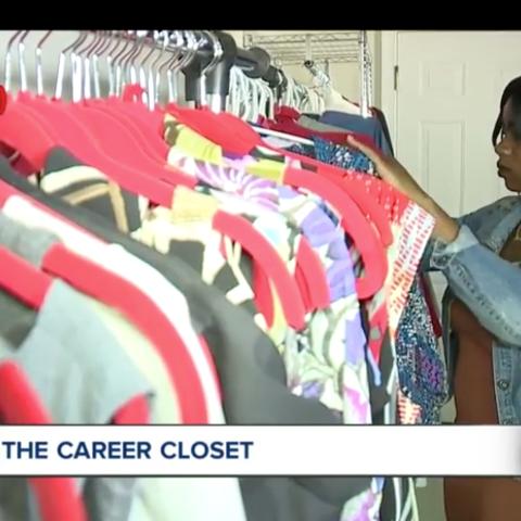 WEWS features Kent State's Career Closet