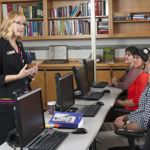 Joslyn Dalton, Kent State Health Informatics Student and Tri-C Assistant Professor