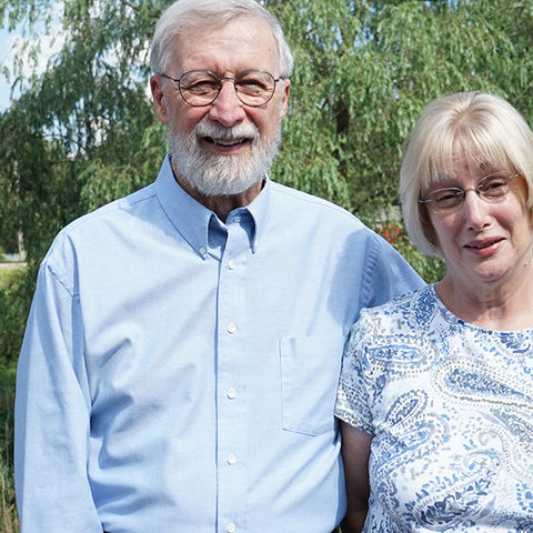Tom (left) and Sue (right) Freeman