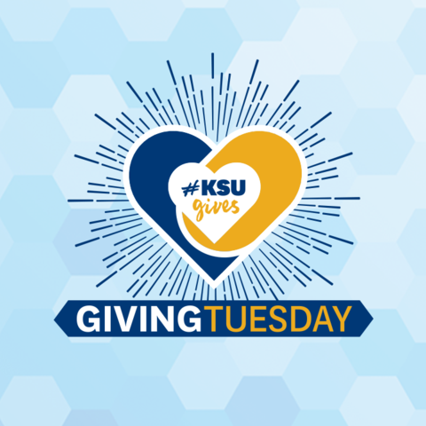 Kent State Giving Tuesday logo