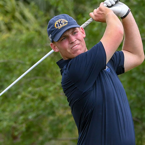 Senior Ian Holt helped the Kent State men's golf team secure a return trip to the National Championship with the team's fifth-place finish at the Kissimmee Regional.