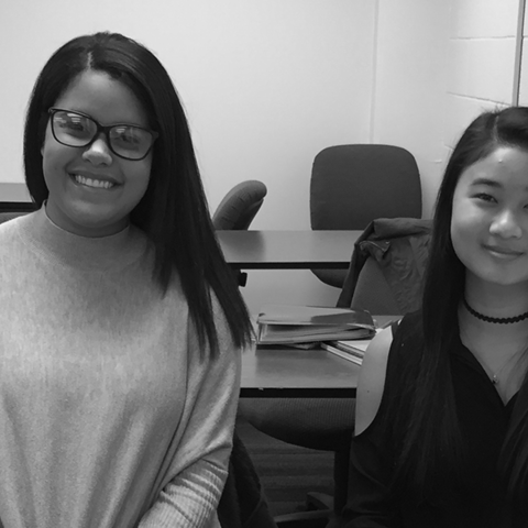 Communication Studies students plan panel discussion on the refugee crisis as part of a class assignment.