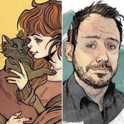 Artwork Sample Shows Comic Book Characters
