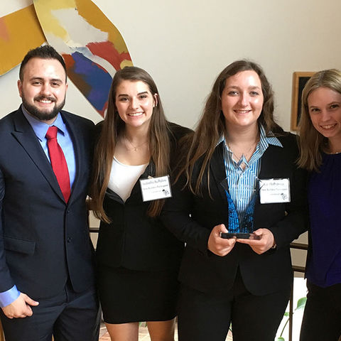 Kent State University's construction management team team was awarded first place at this year's University of Cincinnati's New Builders Competition.