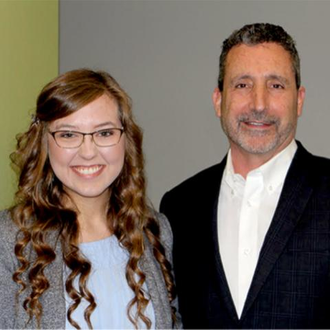 Sara Haidet awarded Innis Maggiore Endowed Scholarship for Communications