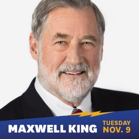 Featured Speaker Maxwell King