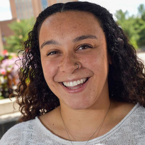 Celeste Dawson credits Kent State's EXCEL program for making Kent Campus feel like a second home.