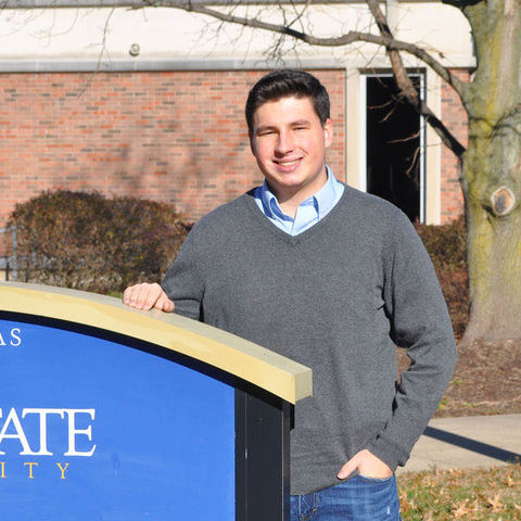 Eric Harmon, Kent State University at Tuscarawas student and councilman-at-large, is currently the youngest elected official in the state of Ohio.