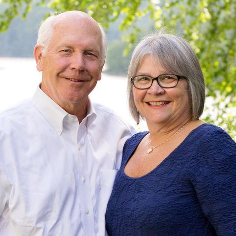 Alumna Rebecca Herr and her husband, Eric.