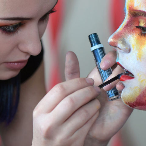Every stroke of the makeup brush reveals Carrie Esser's passion for self-expression.