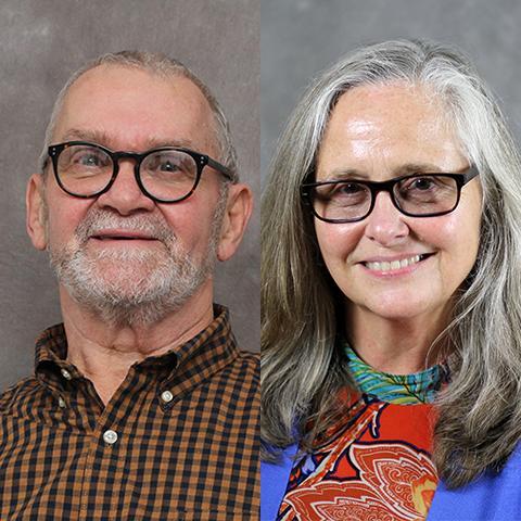 Ashtabula Campus 2020 Retirees Michael Brennan and Carol Jones