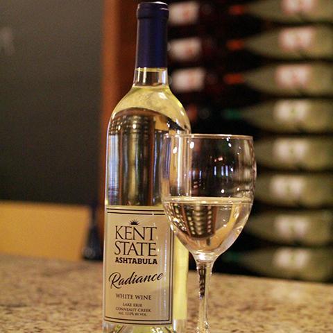 Kent State Ashtabula Wines Radiance white wine