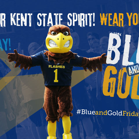 Show your Kent State Spirit!