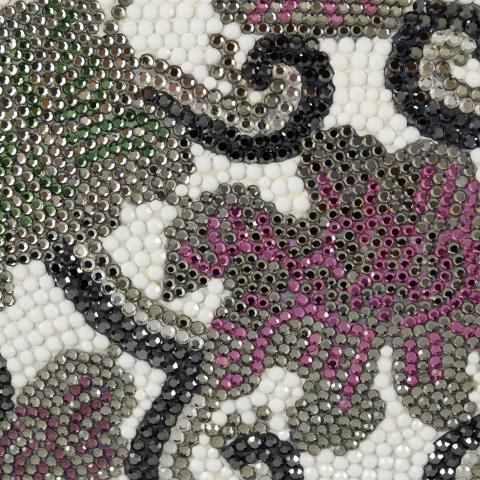 Judith Leiber bag detail