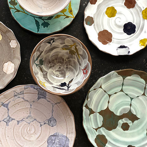 Kent State National Ceramics Invitational - pictured work by Adam Posnak and Sanam Emami