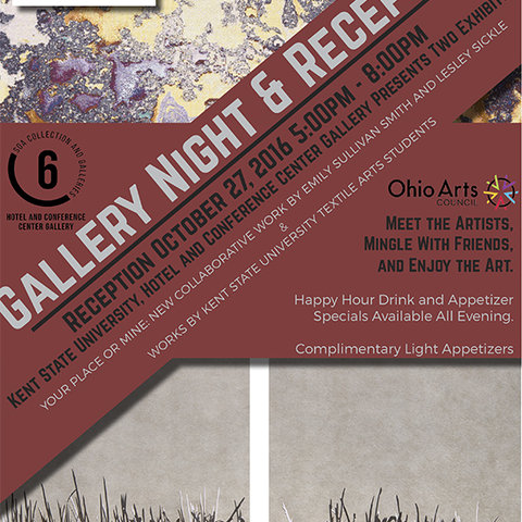 Exhibits at Kent State University Hotel and Conference Center Showcase Work by Alumnae and Current Students