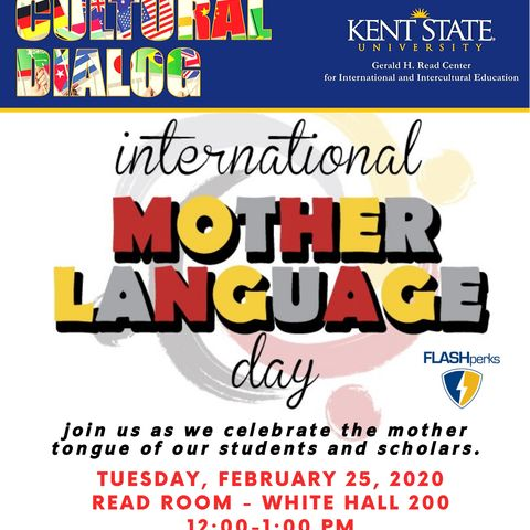 Picture of Cultural Dialogue International Mother Language Day 2020