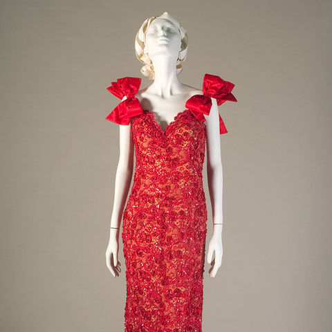 Bob Mackie Red Dress