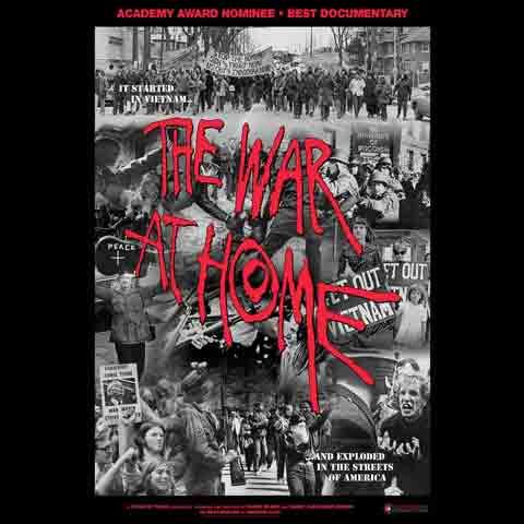 The War at Home movie cover. Filmmaker Glenn Silber presents a special screening of The War at Home.