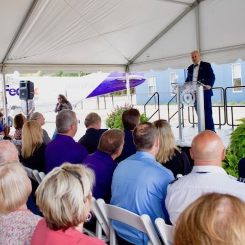 FedEx Aeronautics Academic Center Dedication September 2019