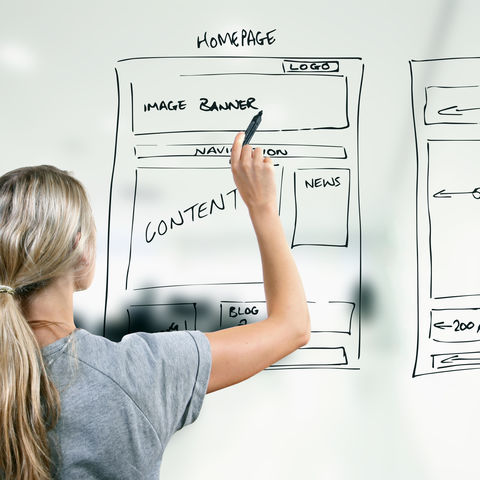 User experience designers are concerned with all the elements that together make up that interface, including layout, visual design, text, brand, sound, and interaction.