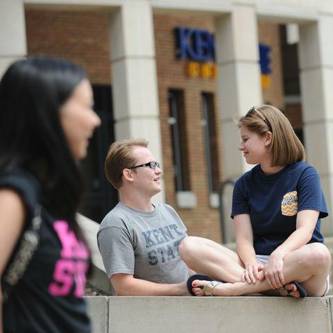 Students Talking