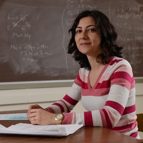 Dr. Veronica Dexheimer, Assistant Professor of Physics