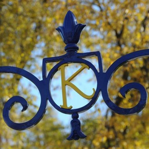 Kent State Lamp Post