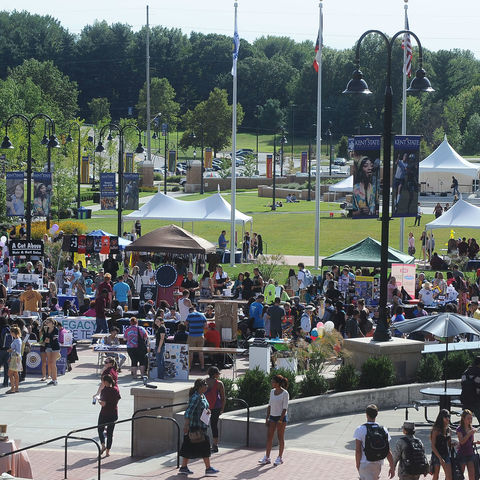 Kent Student Center Plaza