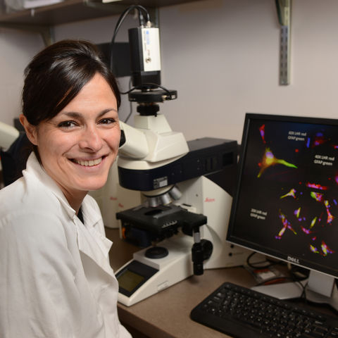 Associate Professor of Biological Sciences, Gemma Casadesus Smith