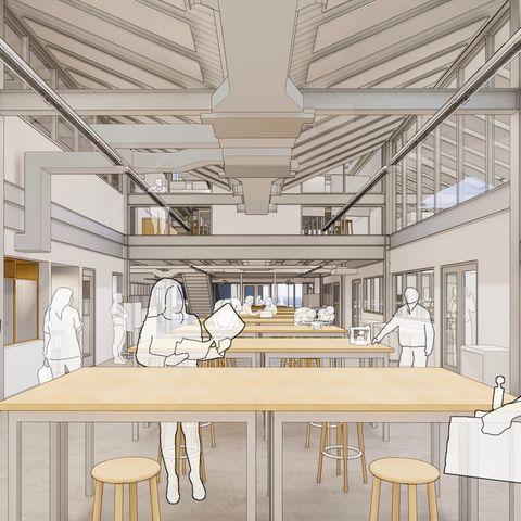Design innovation hub reactor