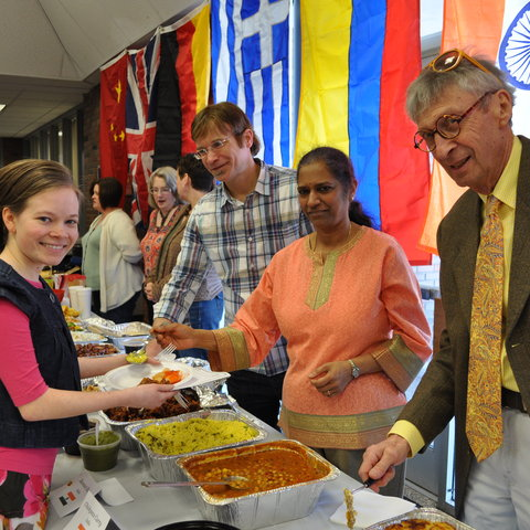 Annual Taste of the World Lunch