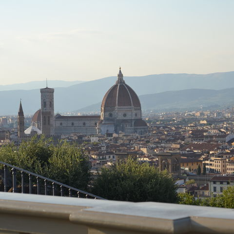 A view of the Duomo, Florence, Italy