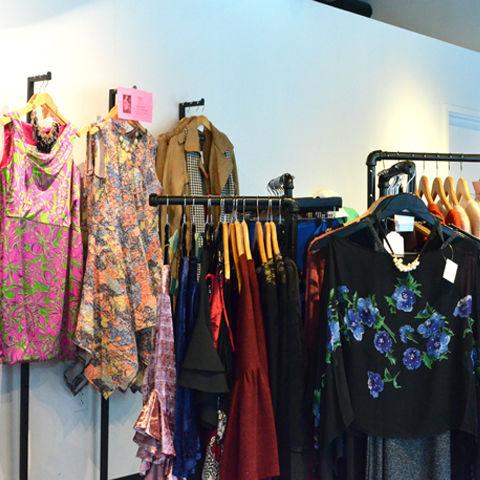 fashion school store interior shot