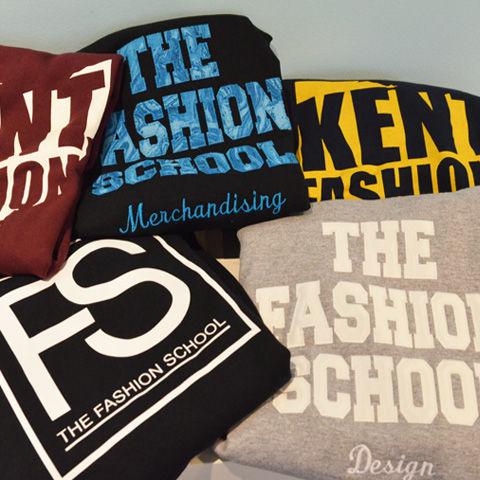 Fashion School Store assortment of sweatshirts