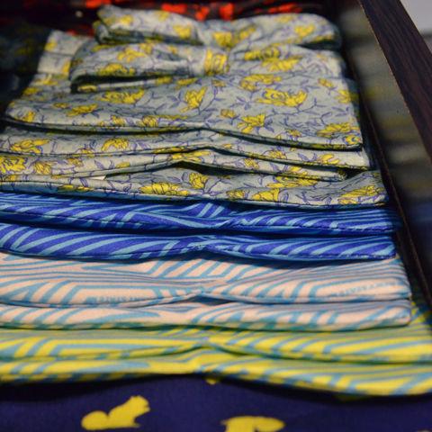 Fashion School Store tie display