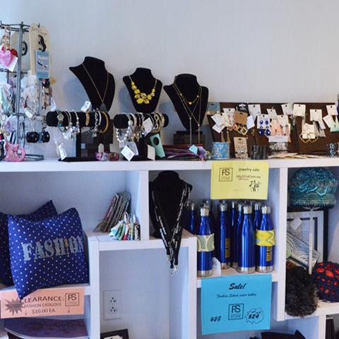 Fsstore interior shot of shelves