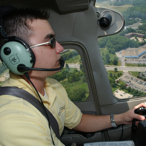 Student in Flight