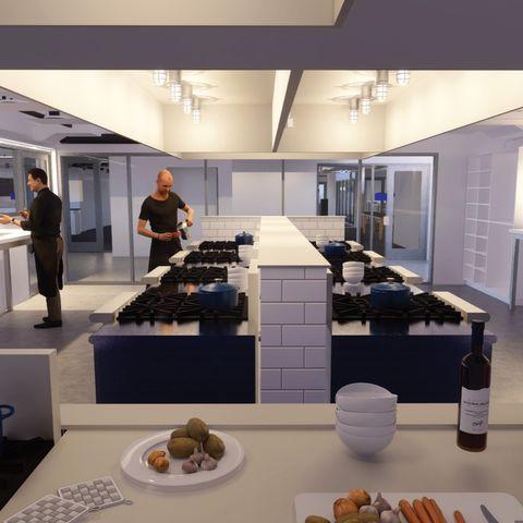 Innovation teaching kitchen
