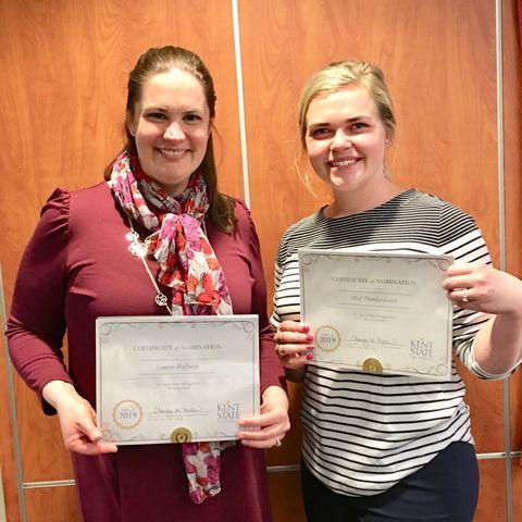 Honors College Advisors Lauren and Olof