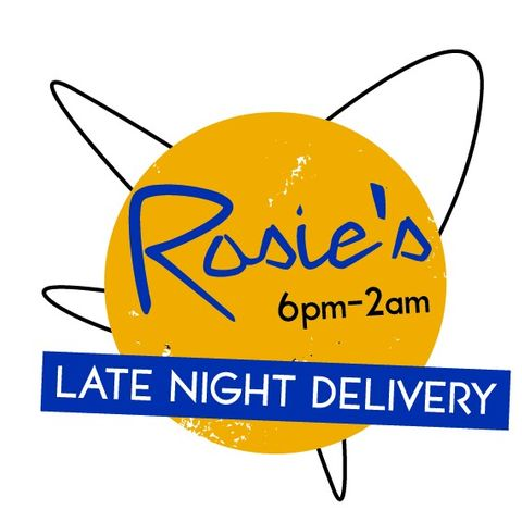 Rosies Late Night Delivery: 6 p.m. to 2 a.m.