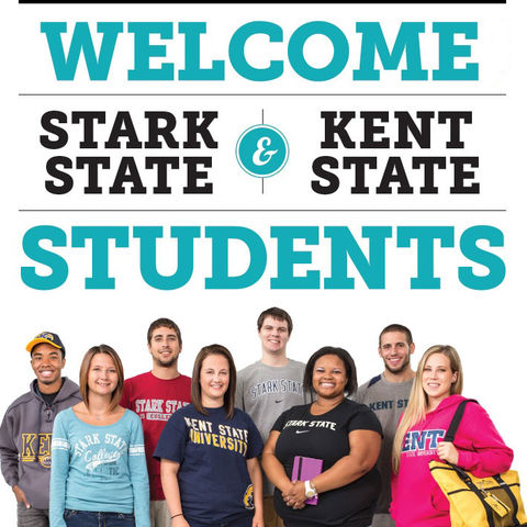Kent State and Stark State Students