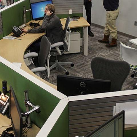 WKSU办公室