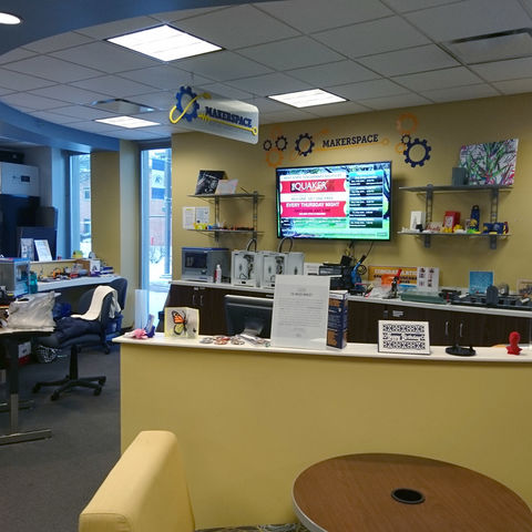 Academic Learning Commons Makerspace Room at Kent State at Tuscarawas