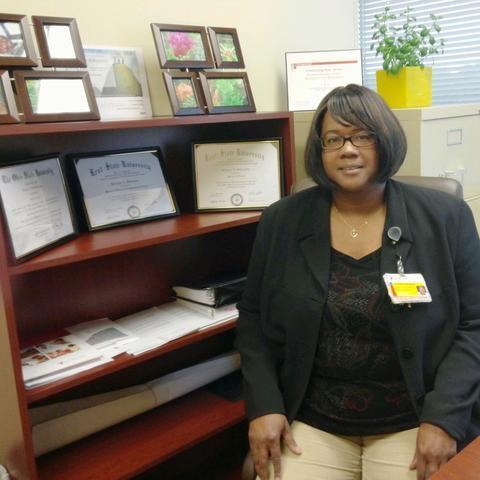 Bridgette Billingslea, M.L.I.S. 2012, M.S. 2013, is the patient access supervisor of University Hospitals, Cleveland.