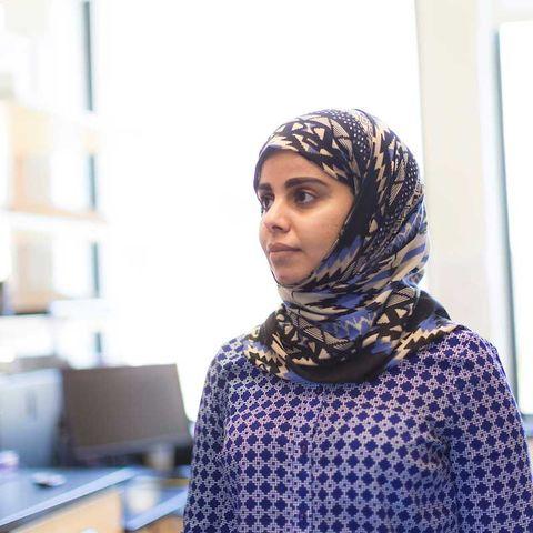 An international student researcher