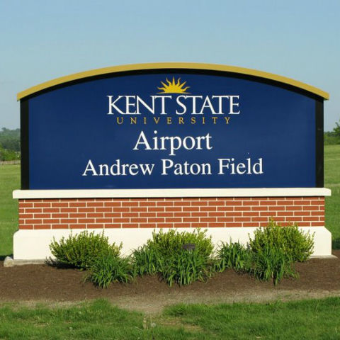 The Kent State Airport, located in nearby Stow, is home to the university's aeronautics program. The field is named after Andrew Paton, a KSU professor who taught the university's first aerospace course in 1947.