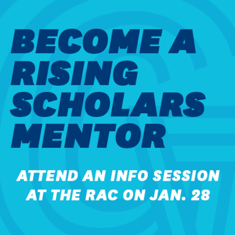 Become a Rising Scholars Mentor Square 1
