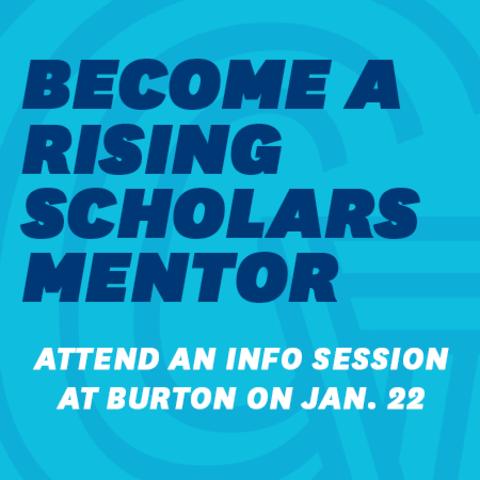 Rising scholars mentor square